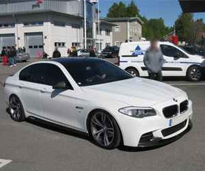BMW 5 Series 520D Engine