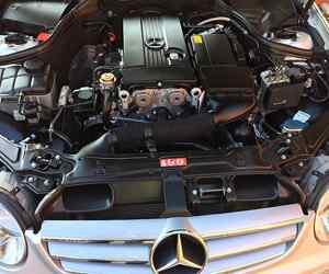 Mercedes-benz CLK Engine
