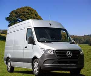 Mercedes-benz Sprinter 3-T Van Engine