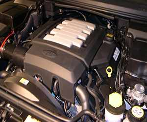 Reconditioned Range Rover Engine