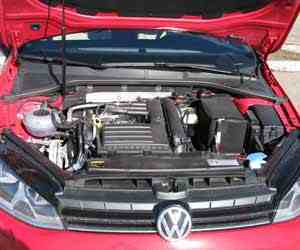 Reconditioned VW Golf Engine