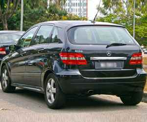 Used Mercedes-benz B-Class Engine