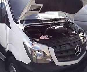 Used Mercedes-benz Sprinter 3-T Van Engine