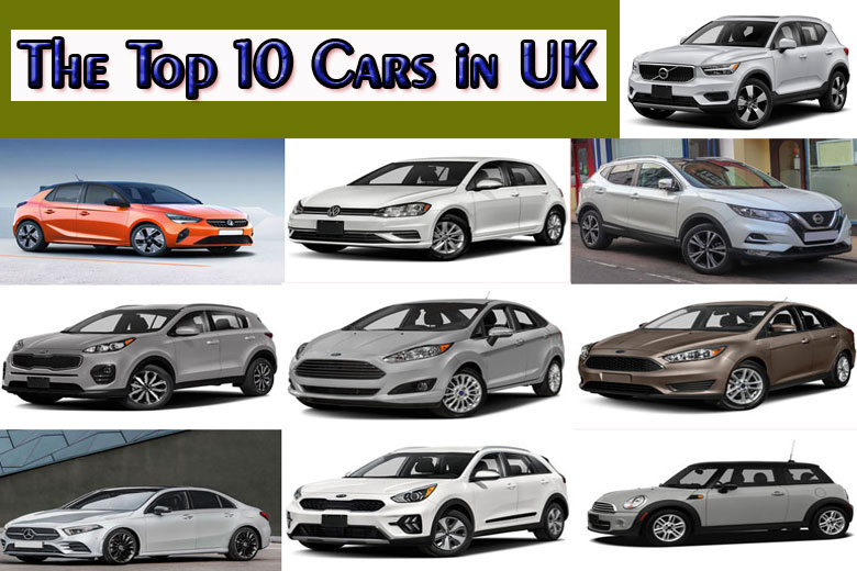 The Top 10 Cars in UK