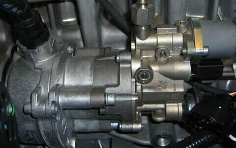 high pressure fuel pump engines